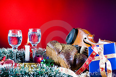 Traditional Christmas objects