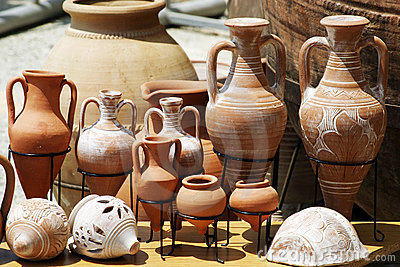 Traditional Clay Pots