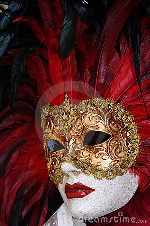 Free Traditional Colorful Venice Mask Stock Images - 7284934