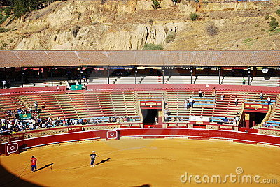Traditional corrida bullfighting in spain Editorial Photography