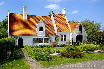 Traditional countryside house