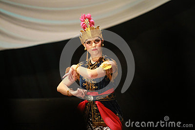 Traditional dance Editorial Stock Image