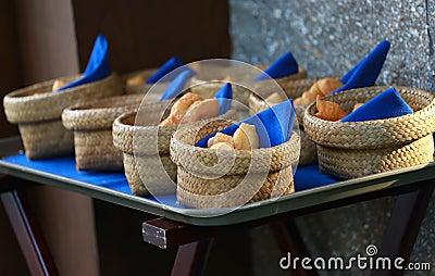 Traditional deep-fried doughsticks