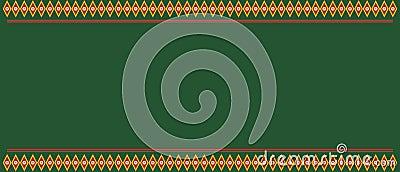 Traditional design motif