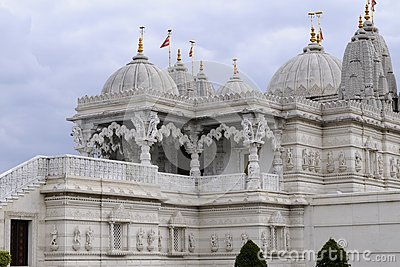 Traditional details of indian temple