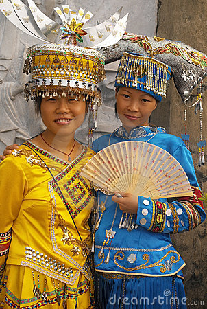 Traditional Dress - Guilin - China Editorial Photo