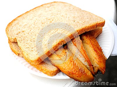 Traditional dutch fried fish sandwich royalty free stock for Fried fish sandwich near me