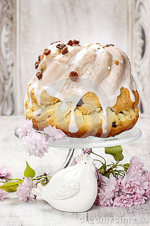 Traditional easter cake