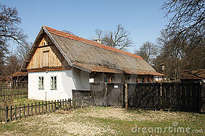 Traditional eastern Europe country house