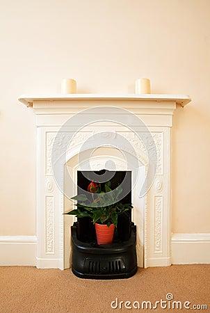 Traditional English Fireplace