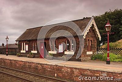 Traditional English Railway Station