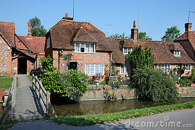 Traditional English Village Houses