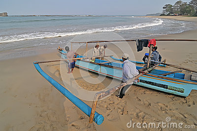 Traditional fisherman Editorial Image