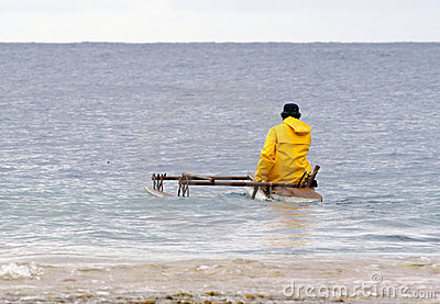 Traditional fisherman