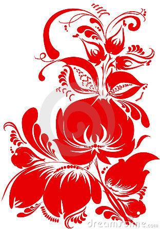 Traditional floral pattern