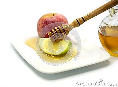 Traditional food for Rosh Hashanah - Jewish New Year