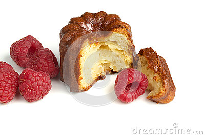 Traditional french cake canelé