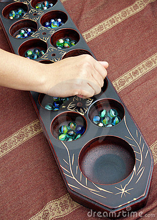 Free Traditional Game Congkak Stock Image - 5841251