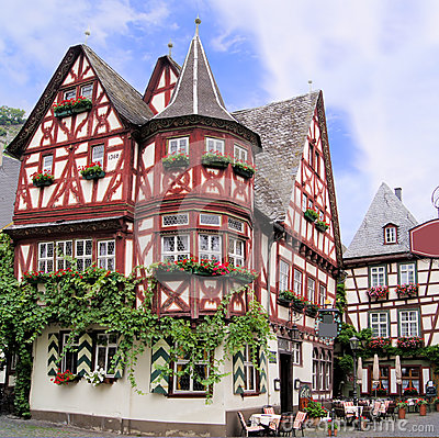 Traditional German House Stock Images - Image: 24628974