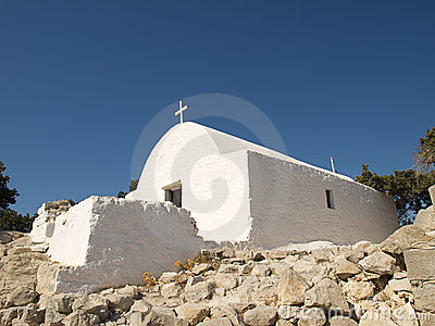 Traditional Greek chapel.