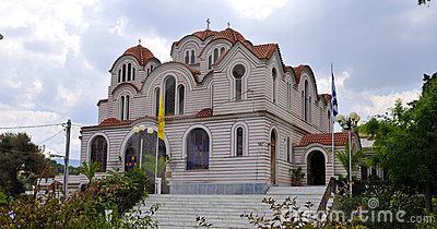 Traditional greek church