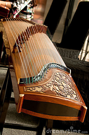 Traditional Guzheng, Musical instrument.