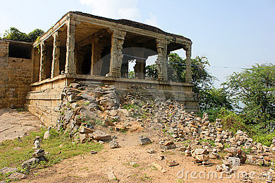 Traditional Hindu religion stone temple