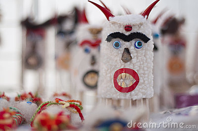 Traditional holiday bulgarian mask
