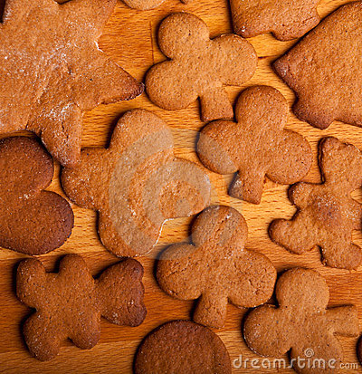 Free Traditional Home Baked Ginger Cookies Royalty Free Stock Photo - 17410755