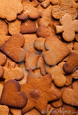 Free Traditional Home Baked Ginger Cookies Stock Photos - 17410813