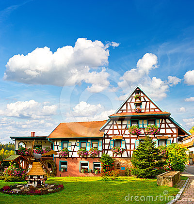 Traditional house in the Black Forest, Germany