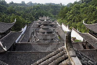 Traditional  house in China