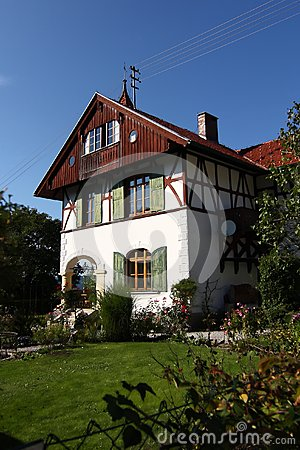 Traditional house in Germany