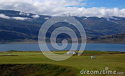 Traditional Icelandic landscape