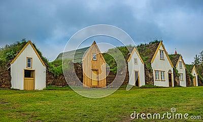 Traditional Icelandic turf houses, Glaumbaer museum