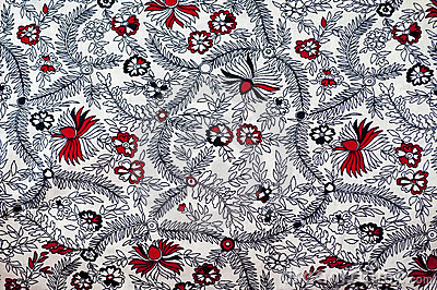 Traditional Indian fabric design