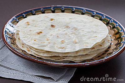 Traditional indian flatbread