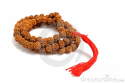Traditional indian rosary for meditation - mala
