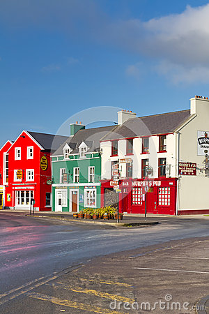 Traditional Irish Murphys pub in Dingle Editorial Stock Photo