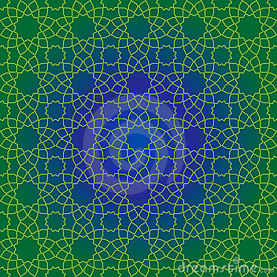Free Traditional Islamic Pattern Royalty Free Stock Photo - 6683235