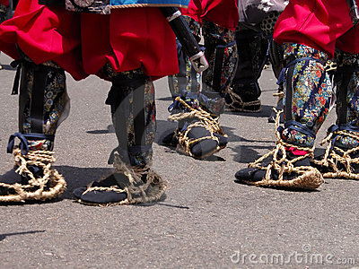 Traditional Japanese infantry footwear