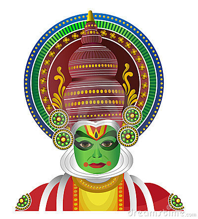 kathakali cartoons pictures illustrations - photo #46