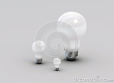 Traditional light bulbs