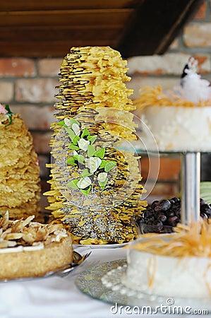 Sakotis Traditional Lithuanian Wedding Cake