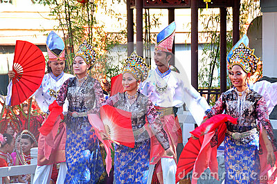 Traditional Malay Dance Editorial Image