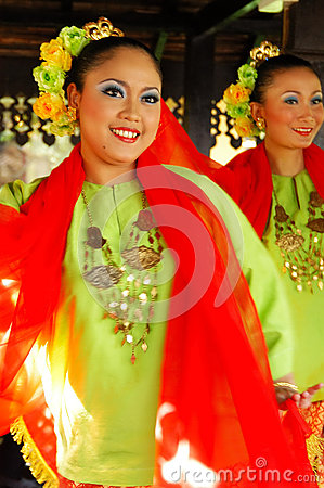 Traditional Malay Dance Editorial Photo