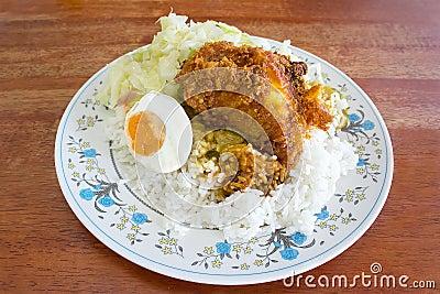 Traditional Malaysian cuisine, Nasi Kandar