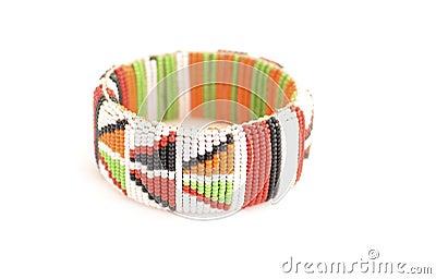 Traditional Masai wristband