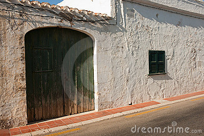 Traditional Menorca architecture