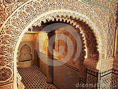 Traditional Moroccan entrance